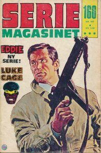 Forsiden af Seriemagasinet nr. 160.