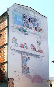 Det flyvende menneske på Christianshavn