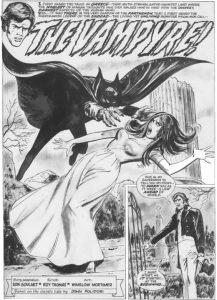 Vampyren som tegneserie