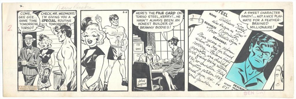 Forbryderen Torso fra tegneserien Kerry Drake.